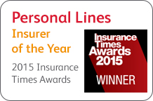 Personal Lines Insurer of the Year 2015 Insurance Times Awards