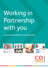 working in partnership with you brochure cover
