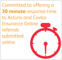Committed to offering a 30 minute response time